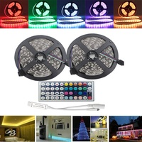 10M 600 RGB LED Strip Light 5050 SMD Flexible Rope Tape Light Kit Waterproof With 44