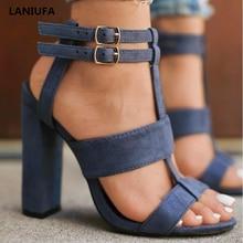 Summer Women High Heels Shoes Women ladies Classics Platform Peep Toe T-tied Pumps Wedding dress shoes sandals women mujer &216
