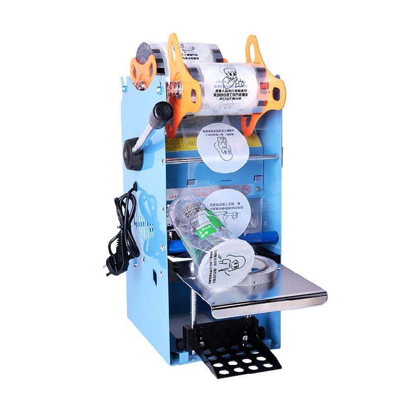 Jamielin Commercial Manual Plastic Bubble Tea Cup Sealing Machine Fruit Juice Cup Sealer For PP/PE Paper Cup