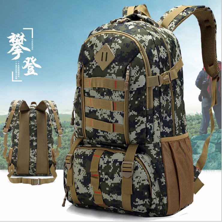 2017 hot travel bag fashion backpack 50L waterproof oxford bag
