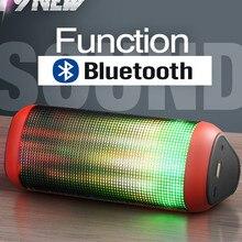 HOT coloré Bluetooth Haut-Parleur Sans Fil haut-parleur Super Bass Subwoofer Extérieure Sport Sound Box FM TF Portable Haut-Parleur