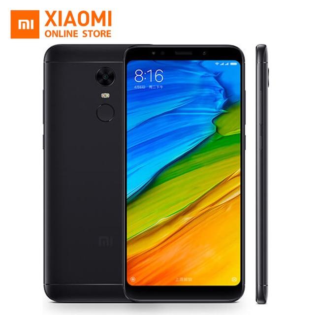 Pre-Sale Original Xiaomi Redmi 5 plus Redmi5 plus 18:9 Screen Display 3GB 32GB Snapdragon 625 Octa Core 4000mAh Only English