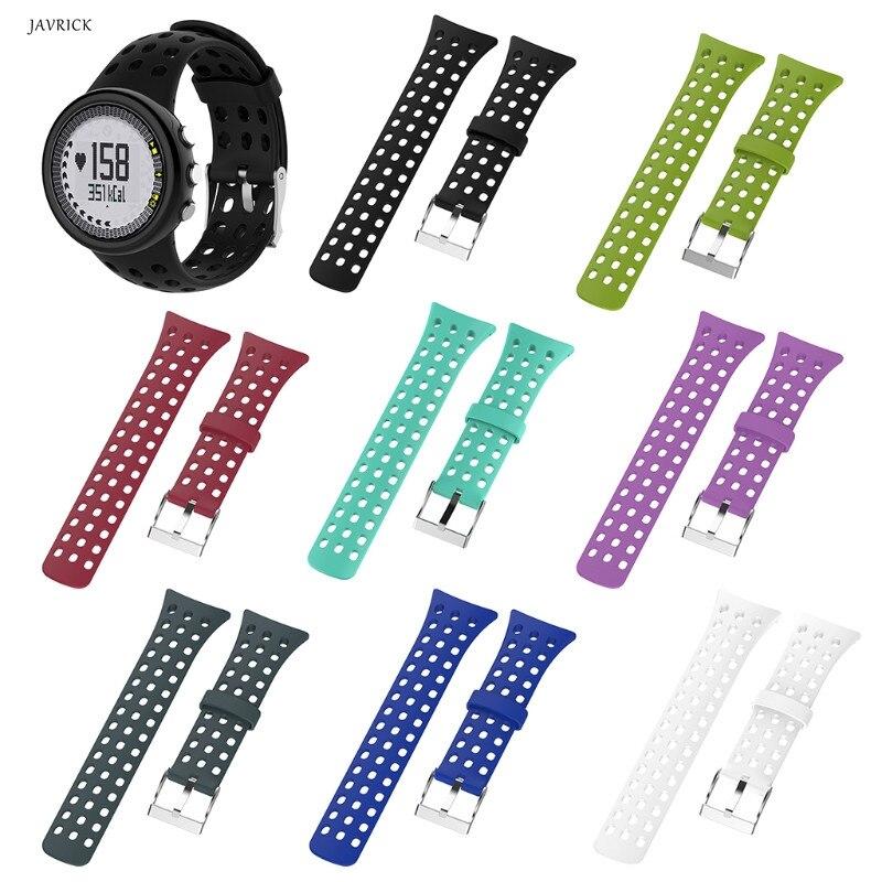Substituição de Silicone Wrist Band Strap Para SUUNTO Busca M1 M2 M4 M5 Série Relógio