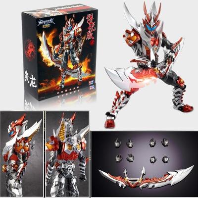 Image 3 - COMIC CLUB in stock AULDEY Armor Hero Chronicles Emperor Hero Dragon Armor evolution version action figure toyAction & Toy Figures   -