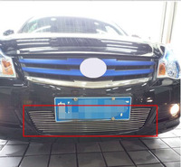 Aluminium Front Center Racing Grills Billet Grille Cover For Nissan SYLPHY sentra 2009 11 1PC