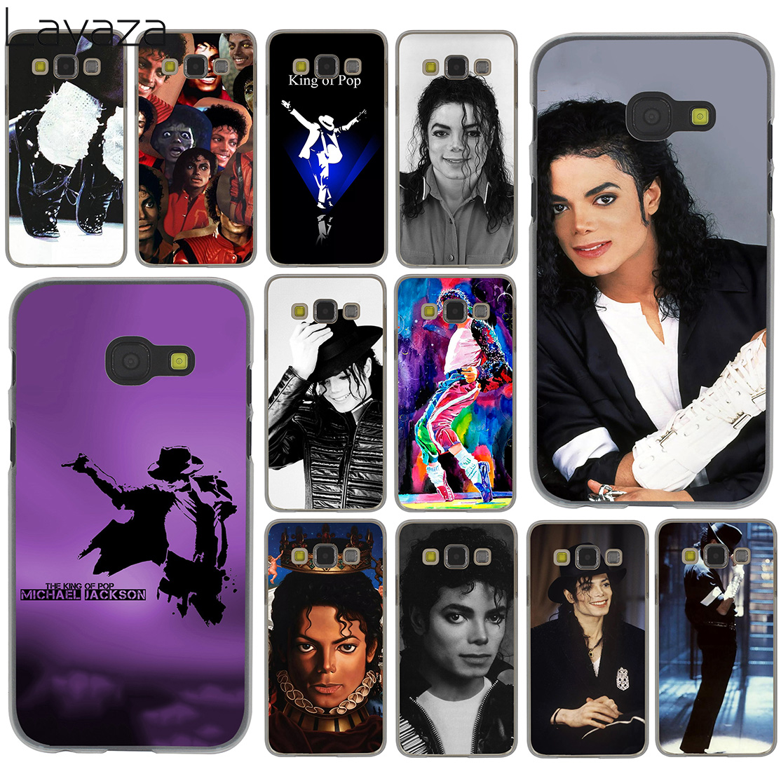 US $1 94 24% OFF|Lavaza Michael jackson dance Music Case for Samsung Galaxy  A6 A8 Plus A7 A9 2018 A3 A5 2017 2016 2015 Note 9 8 Cover-in Half-wrapped