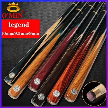 WOLFIGHTER O'Min Legend Handmade 3/4 Snooker Cue Case Set 9mm 9.5mm 10mm Tips China