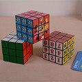 2016 Новый Магический Куб Профессиональный 3x3x3 детский Подарок Красочные Cubo Magico Головоломки Скорость Классические Игрушки обучение и Образование Игрушки