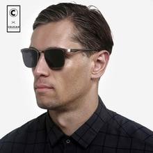 COLECAO New Polarized Sunglasses Mens Glasses Driving Protective HD Polaroid Lenses Fashion Points Gafas de sol W/Case J3042