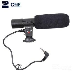 Image 4 - Mic 01 microfone profissional da câmera do condensador para canon eos m2 m3 m5 m6 800d fr 750d 77d 80d 5ds r 7d 6d 5d marca iv