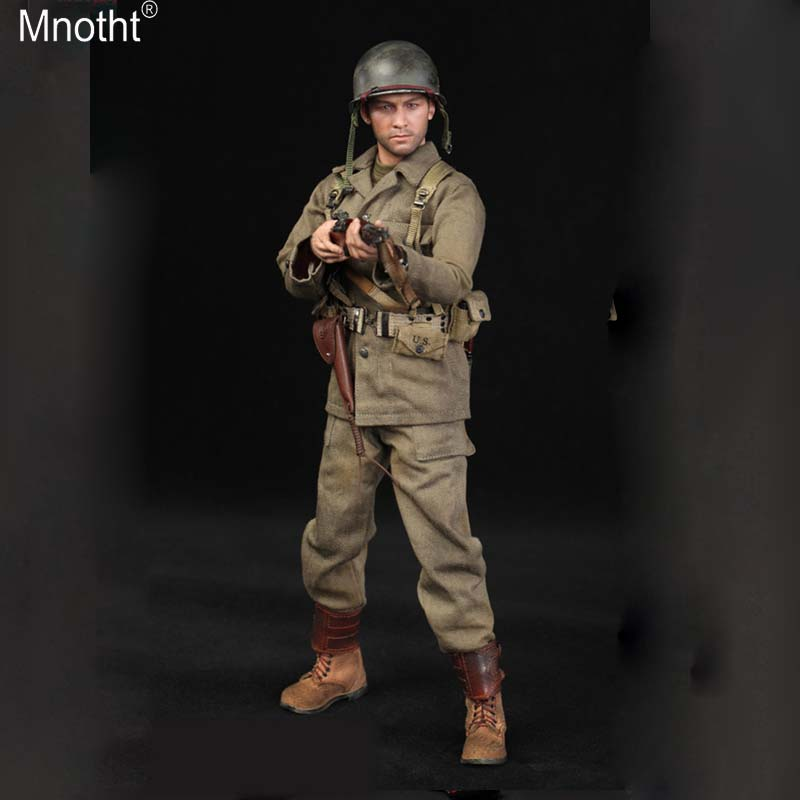 Mnotht 1/6 US Army Seventy Seventh Infantry Division Captain Sam A80129 Uniform Suit Model for 12in Soldier Action Figure m3n jean paul gaultier le beau male