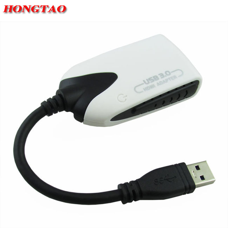 HD 1080P USB 3.0 To HDMI Adapter Converter for PC Laptop Desktop Projector HDTV USB3.0 to HDMI Multi Display Graphic Adapter