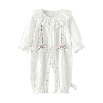 baby girl clothes newborn lace infant girls set autumn baby rompers long sleeve cotton kids clothing 0-2Y baby girl rompers 0 2y summer autumn newborn baby clothes for girls long sleeve kids boys jumpsuit baby girls outfits clothes