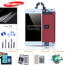 Sinbeda AAA+ LCD Display For iPhone 5 5S 5C Touch Screen Digitizer Assembly with 3D Force Touch for iPhone 5 5C 5S Display аксессуар стекло защитное luxcase 0 33mm for iphone 5 5s 5c 80282