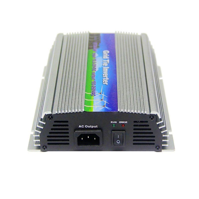 10.5-30Vdc 600W Solar Grid Tie Inverter Output 90-140Vac,Pure Sine Wave power inverter For Vmp18v panels Home Solar System maylar 22 60v 300w solar high frequency pure sine wave grid tie inverter output 90 160v 50hz 60hz for alternative energy