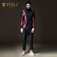 PINLI Products 2017 Autumn New Men S Self Cultivation Jacquard Small Suit Suit Jacket B173306383