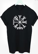 Viking Compass T-Shirt Vegvisir The Norse Symbol t shirt tee kids & adult s-xxxl  Funny Tops Tee New Unisex free shipping