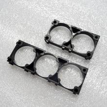 50 ชิ้น/ล็อต 32650 แบตเตอรี่ลิเธียมแบตเตอรี่ผู้ถือแบตเตอรี่ทรงกระบอกวงเล็บพลาสติก 2P 3Pผู้ถือ
