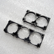 50pcs/lot 32650 lithium battery holder Cylindrical battery plastic bracket 2P 3P holder