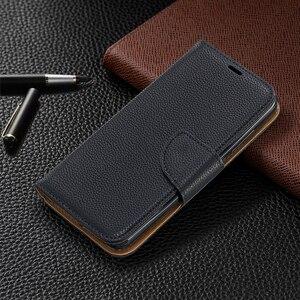 Image 2 - Portfel telefon obudowa do Xiaomi Redmi Note 8 Pro uwaga 7 7A K20 Pro 6A 6 Pro etui z klapką ze skóry Magetic posiadacz karty stań pokrywy