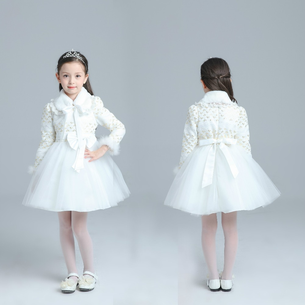 Contemporary White Wedding Dresses For Kids Model - All Wedding ...