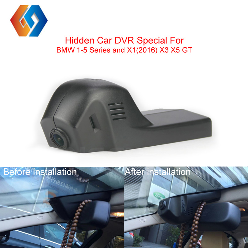 Car DVR Special Hidden Dash Cam For BMW Series Built in G Sensor With Motion Detection