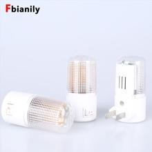4 светодиода Настенный светильник США Plug Настенное освещение дома 3W Аварийное освещение LED Night