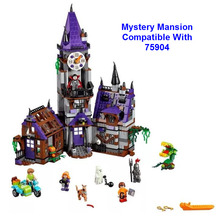 2016 Оригинал BELA 10432 Строительные Блоки, которые Поддерживаются Legoe Scooby Doo Тайна Особняк 75904 Цифры Кирпичи Модель Детские Игрушки