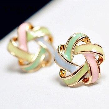 Color Stripe Earrings