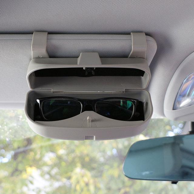 Color My Life Glasses Case Organizer Box Sunglasses Holder Storage Pockets for Renault Koleos Kadjar Duster for Samsung QM6 QM3