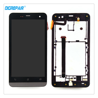 100 New Black For Asus Zenfone 5 A500CG A500KL A501CG LCD Display Touch Screen Digitizer Full