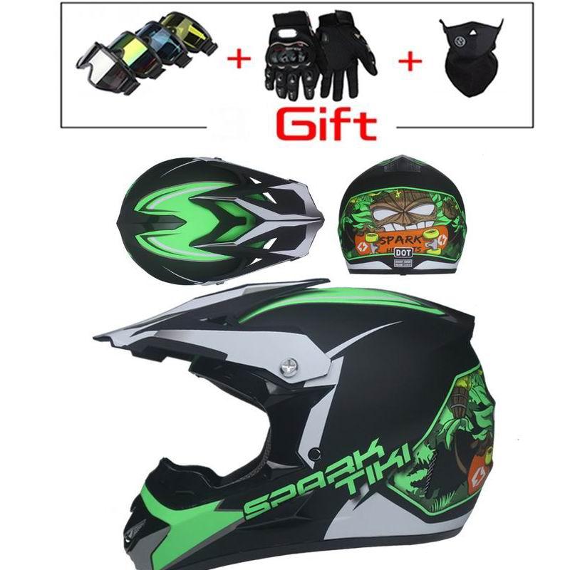 Us 37 38 15 Off 2018 Professional Racing Motocross Casque Hors Route Casque Moto Capacete Moto Casco Off Road Cartoon Children Motorcycle Helmet In