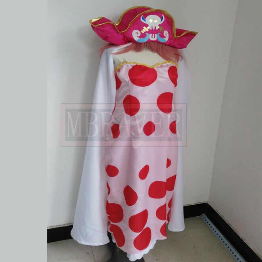 Big Mom Charlotte Linlin Cosplay Costume Four Royal Pirates Women Sling Dress