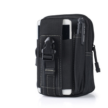ThiKin Men Canvas Waist Bags Adjustable Strap Waist Pack Bag 5.5-6Inch Mobile Phone Belt Bag Portable Travel Fanny Bag