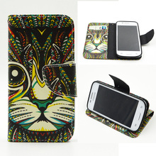 Flip Case for Samsung Galaxy Star Advance (Star 2 Plus) G350E SM-G350E G350L SM-G350L Core Plus G350 SM-G350 Phone Leather Cover