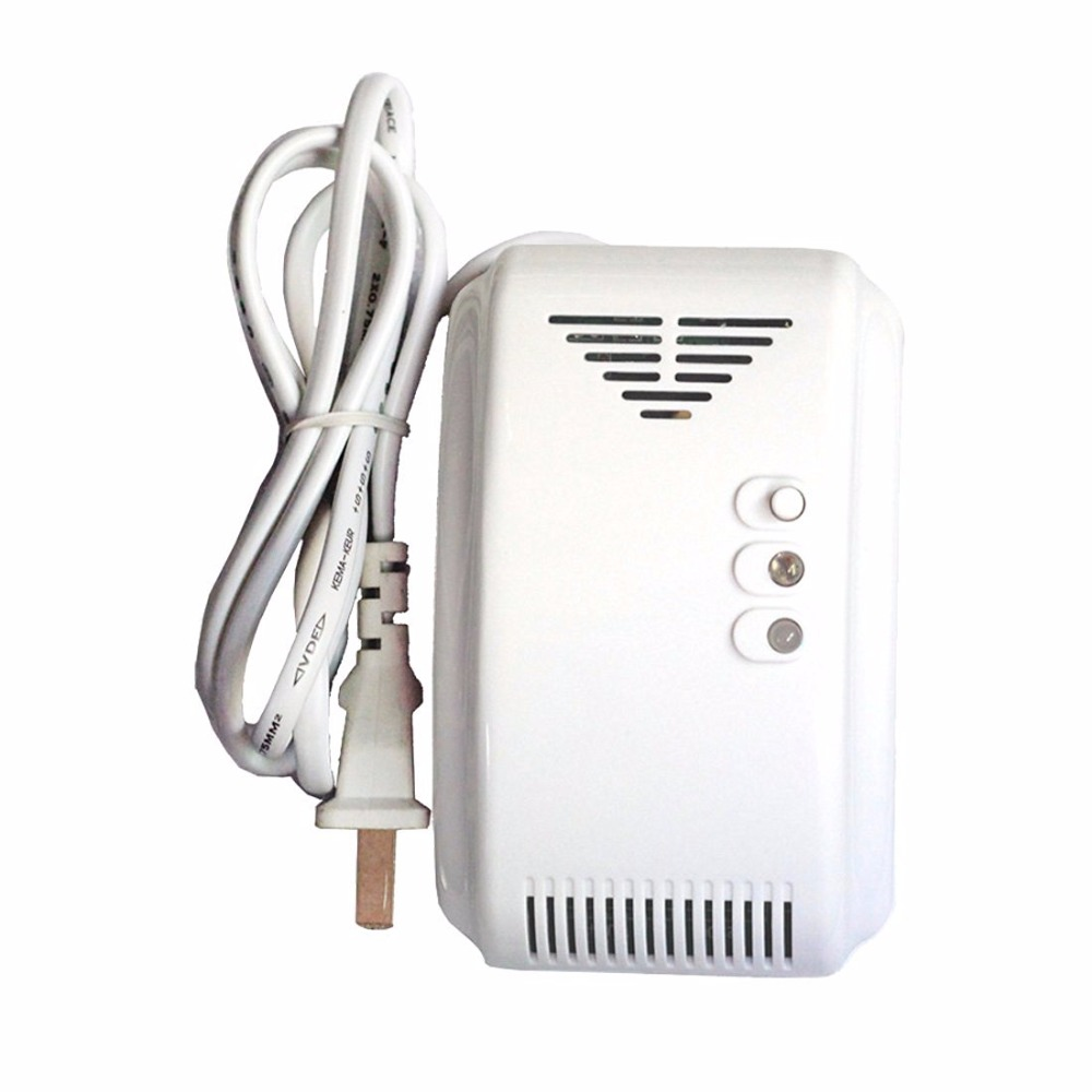 YoBang Security Touch Screen GSM Wireless Alarm System Smart Home Smoke Fire Alarm Detector 433MHZ RFID Android IOS APP Controls - 6