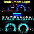 T5 Led 7 Colors 12V Light Dashboard LED Instrument and Gauge Light Bulb For BMW E36 E3 E21 E23 E24 E28 E30 E34 E38 E31 E12 Z3