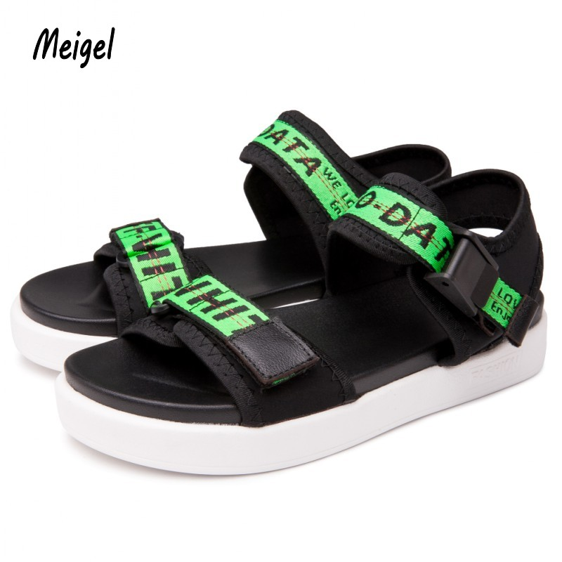 Hot Sale New Fashion Summer Leisure Beach woman Shoes High Quality Leather Sandals The Big Yards women's Sandals Size 36-39 508