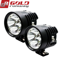 2PCS GOLDRUNWAY GR EXP4 Super Bright High Power 24W 2800 Lumens Motorcycle Led Light Spot White