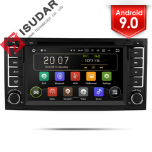 Isudar 2 Din Auto Radio Android 9 Per VW/Volkswagen/Touareg CANBUS Car Multimedia Video DVD Player GPS navigazione DVR USB FM/AM