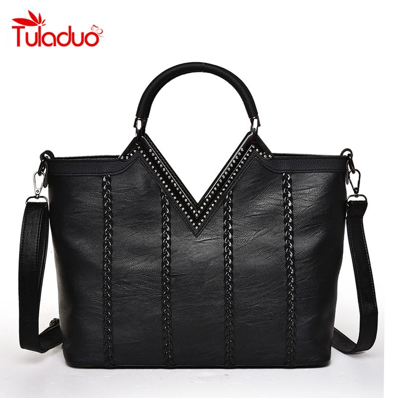 2018 New Big Luxury Handbags Women Bag Women Messenger Bags Fashion Leather Handbags Famous Brand Designer Tote Ladies Hand Bag 2018 new women hangbag brand famous designer pu leather women handbag bag ladies satchel messenger tote bags travel luggage