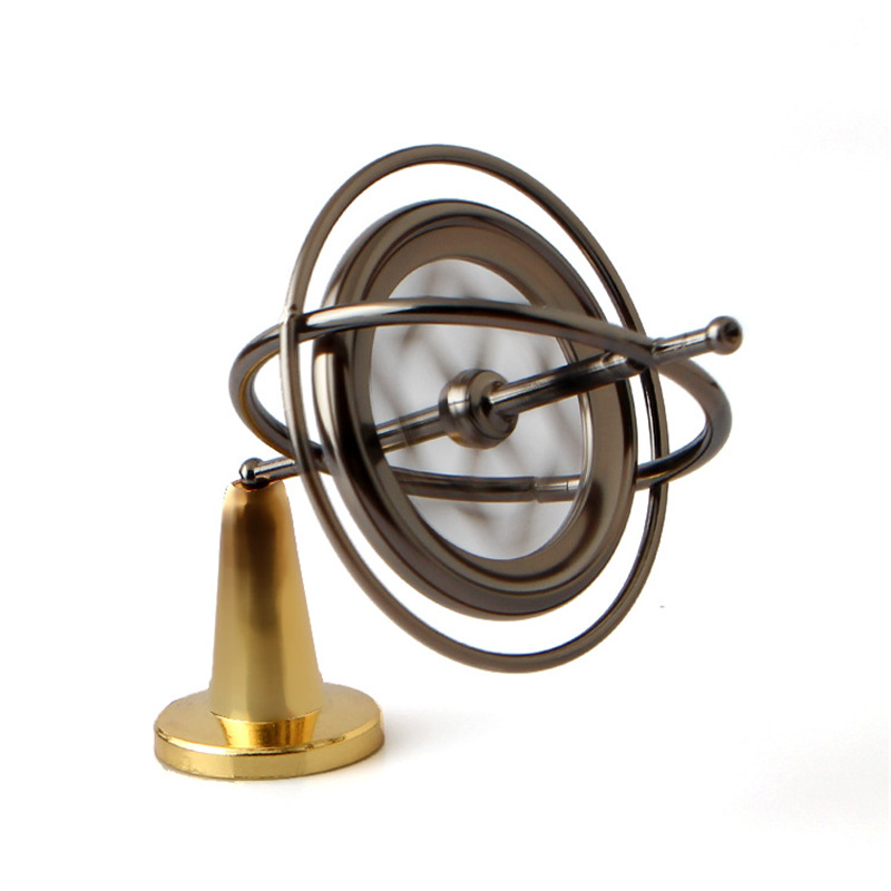 Metal Gyroscope Gyro toys classic traditional educational High Quality creative experiment magic gift child boys gift