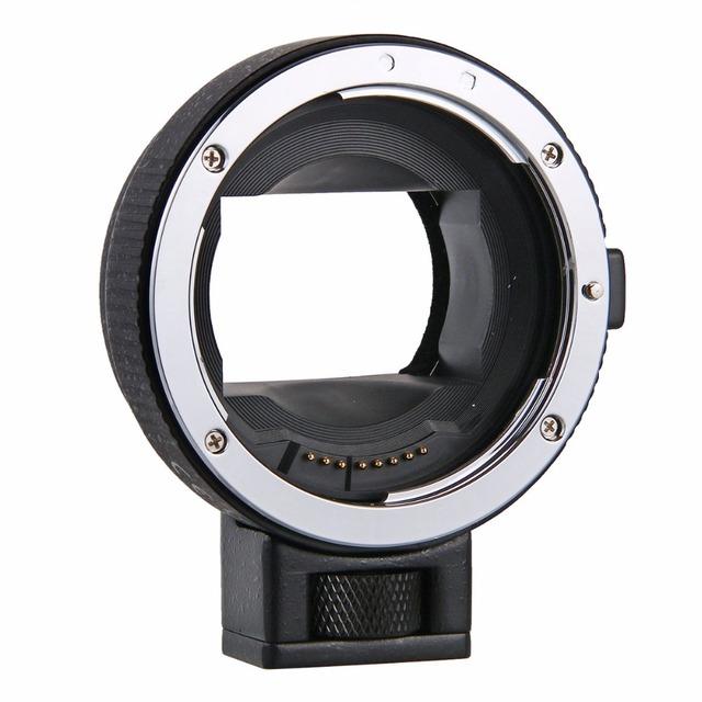 Enfoque automático ef-nex lente adaptador de montaje para canon ef ef-s de lentes para la sony e nex e-mount a7 a7r a7s nex-7 nex-6 5 cámara de fotograma completo