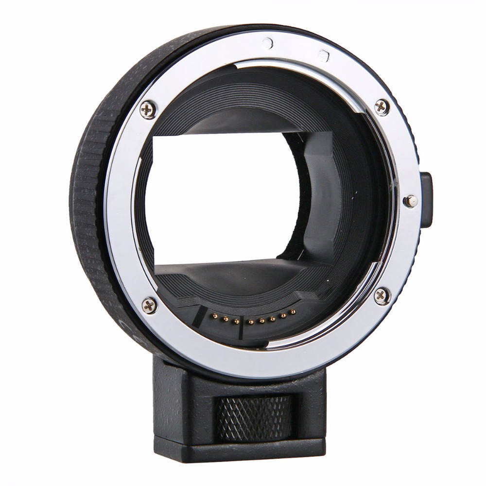 Mise Au Point automatique EF-NEX Lens Mount Adapter pour Sony Canon EF EF-S lentille à e-mount NEX A7 A7R A7s NEX-7 NEX-6 5 Appareil Photo Plein Cadre
