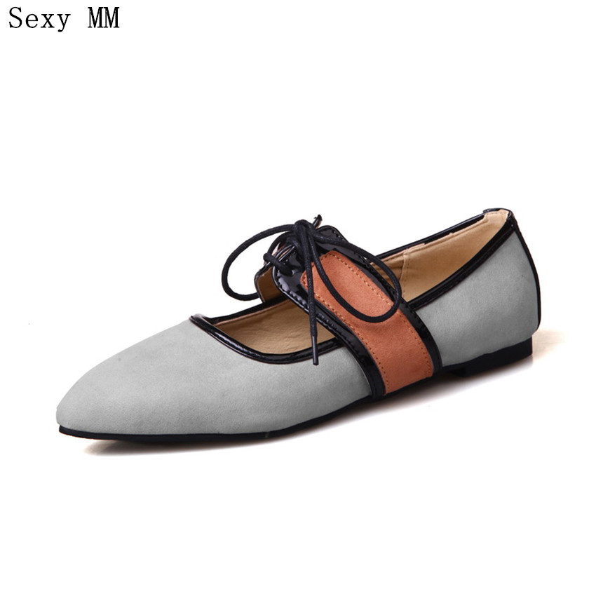 Slip On Shoes Loafers Girl Ballet Flats Women Flat Shoes Soft Comfortable Shoes Woman Plus Size 34 - 40 41 42 43 spring women loafers soft slip on ballet flats for 2017 summer style stripe canvas shoes woman plus size 35 40