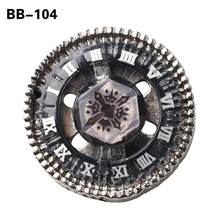 1pcs Spinning Top BB104 Beyblade Metal 4D Launcher Constellation Fighting Gyro Battle Fury Toys Christmas Gift