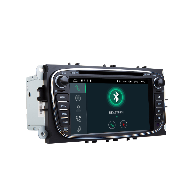 IPS Car Multimedia 2Din Android 9 GPS Car DVD Player for FORD Focus 2 3 S MAX Mondeo 4 C MAX Galaxy KugaCar Radio Navigation DVR in Car Multimedia Player from Automobiles Motorcycles