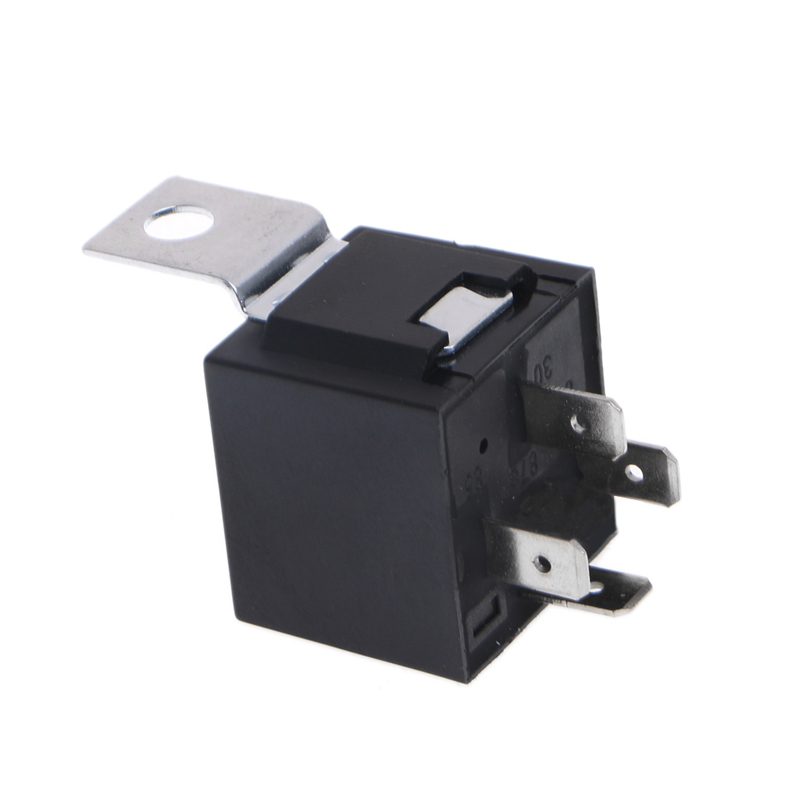 Waterproof Car Relay Dc 12v 40a 4pin Automotive Fuse Relay