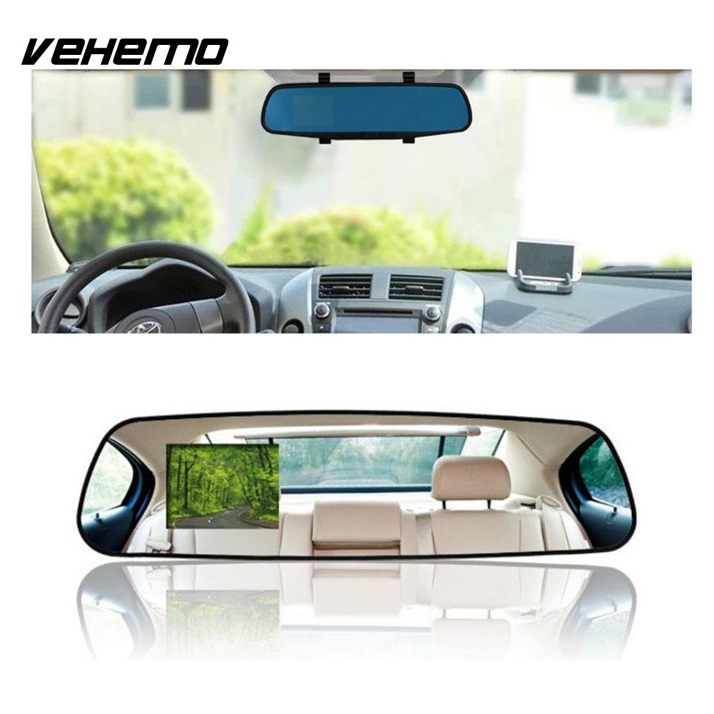2.8'' 1080P HD Car Camera Video Recorder Rearview Mirror Vehicle Dash Cam