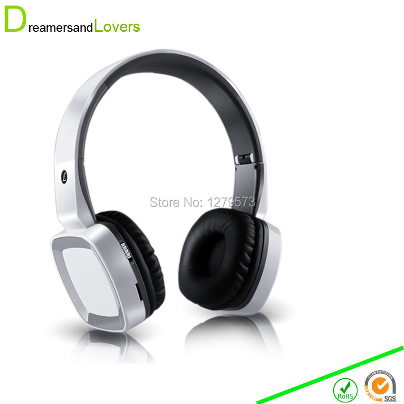 Bluetooth Wireless Headphone Noise Isolating HIFI HD Stereo Headset Earphone with Mic For TV PC Mobile Phone+ TF Card MP3 Player